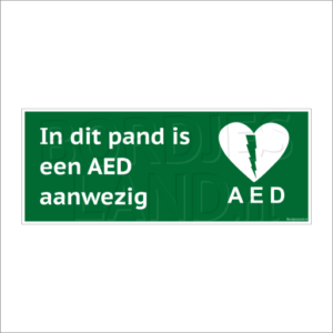 bl-bd-hv-aed aanwezig